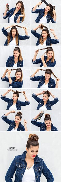 ASK THE EXPERT | Twisted Top Knot