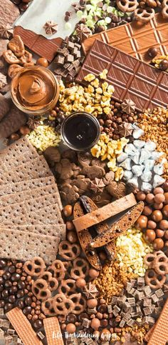 The Ultimate Chocolate Charcuterie Board — Lily The Wandering Gypsy Meat Appetizers, Appetizer Recipes, Dessert Recipes, Thanksgiving Appetizers, Dessert Ideas, Antipasto, Platter Board, Platter Ideas, Charcuterie Platter