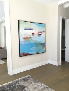 Summer by Sharon Paster at Private Residence, Sausalito Living Room Canvas Art, Dining Room Art, Institute Of Contemporary Art, Seascape Paintings, Canvas Paintings, Boat Painting, Unique Wall Art, Bedroom Art, Beautiful Paintings