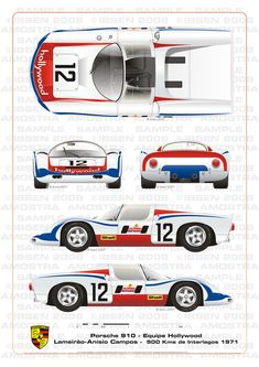Porsche 910 Equipe Hollywood by ibsenop on DeviantArt