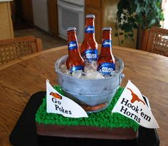 Fantastic Cake! perfect for tailgates and sports parties!