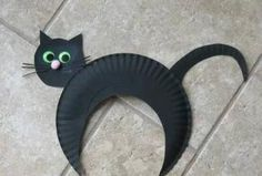#cute #cat. Do it with your baby is a good idea! #DIY, #Simple #handicraft