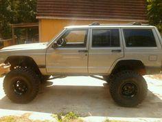 My boyfriend's lifted Jeep cherokee :) I lovingly call it THE TANK