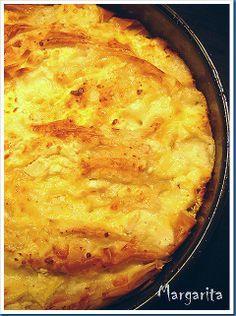 Greek Cheese Pie πατσαβουρόπιτα απλή και γευστική