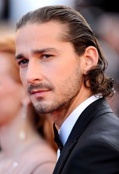 Shia LaBeouf...even with that long hair, yum! :)