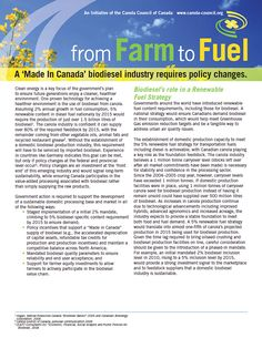 Biodiesel - policy changes - Learn Canola Government Of Canada, Policy Change, What Is Need, Teacher Resources, Curriculum, Jet, Student, Education, Learning
