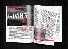 Screen vs Editorial Design on Behance