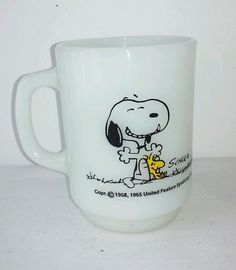 1965 vintage Snoopy mug shots this has been a good day