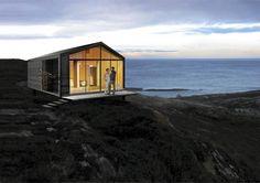 Hytte Blåtann NSW Arkitekter Vikinghytter=