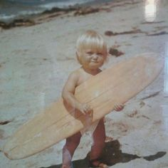 Baby surfer :)
