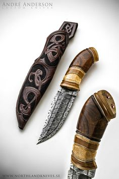 andre andersson knives | André Andersson Custom Damascus Knives