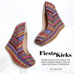 New Fiesta Rainbow Wedges