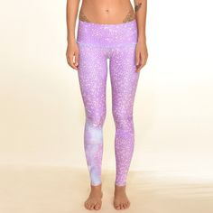 Teeki Mermaid Fairyqueen Lavendar Hot Pant. The mermaid fairyqueen lavender hot pant has a high and low waistband option. Live Your Life Gear