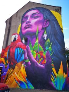 Belfast street art is some of the best street art I have seen all over the world! I've picked out my favourite pieces of street art in Belfast. 3d Street Art, Street Art Banksy, Best Street Art, Amazing Street Art, Street Artists, Amazing Art, Street Mural, Graffiti Art, Graffiti Drawing