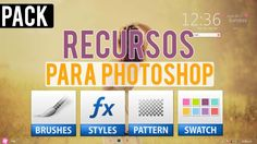 Nuevos Recursos para Photoshop l 2014 (Estilos, Motivos, Muestras, Brush...