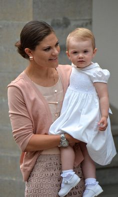Royal little lady: Future queen Princess Estelle of Sweden's cutest photos - HELLO! US
