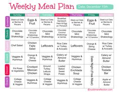 21 day fix measurement chart - Google Search