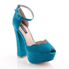 Chloe Mary Jane Turquoise. Perfect for spring