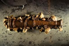 Blackbeard's ship confirmed: A cast-iron cannon from Blackbeard's ship, Queen Anne's Revenge. - (NGS Picture ID: 1081681)
