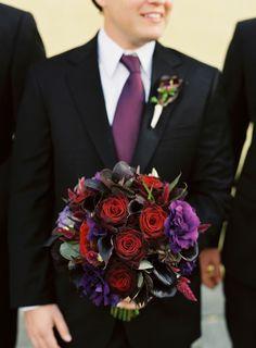 gorgeous dark bouquet | photo by Virgil Bunao