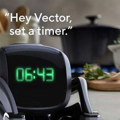 Anki Vector Robot - One Colour - Easy Hairstyle Video, Easy Hairstyles, Tech Gadgets, Cool Gadgets, Cozmo Robot, Advanced Robotics, Vector Robot, Smart Robot, Baby Girl Toys