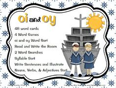 Vowel diphthongs -oi -oy