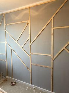 Home Room Design, Home Interior Design, House Design, Diy Interior, Small Room Decor, Living Room Decor, Home Bedroom, Bedroom Decor, Accent Wall Designs
