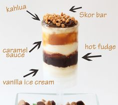 Kahlua & cream pops (and the recipe for Kahlua ice cream pie!!) from Grin & Bake It