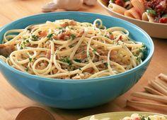 Quick Spaghetti and Clam sauce