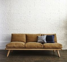 Jason Pickens' Sofa for Steven Alan, Remodelista LOVE THIS SOFA!!