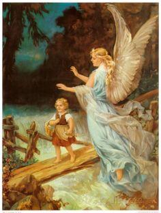 Heilige Schutzengel Print at AllPosters.com