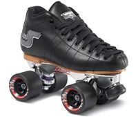 S55 Avanti Speed Skates: Leather Boots, Metal Plates, Speed Wheels; Size(s) 4 - 13