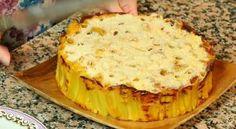 Timballo di maccheroni al formaggio.