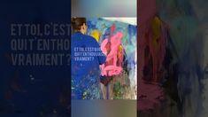 Peinture Abstraite consciente Painting, Art, Paint, Art Background, Painting Art, Kunst, Paintings, Performing Arts, Painted Canvas