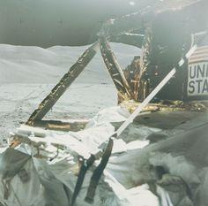 Last photo taken on the moon! Yeah, it sucked.