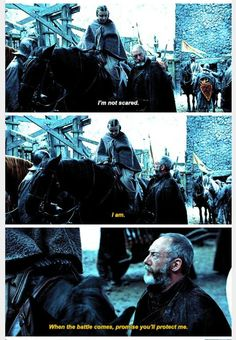 Shireen Baratheon & Davos Seaworth