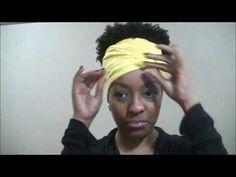 Cabelo Afro: Acessórios - chapéu-boina-turbante