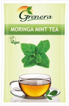 Moringa mint tea gives a wonderful after meals refreshment with its soothing mint flavor combined with the nutritive values of Moringa. Moringa Mint Infusion is one of the most in-demand vegetal infusions because of its high nourishing value.  Moringa mint tea contains dried mint leaves along with Moringa leaves and pods. It is a good Source of Nutrients. It is a proprietary blend of Moringa Leaves, Moringa Fruit Powder and Mint Leaves.