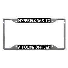 RED Chrome License Plate Frame DIVERS DO IT DEEPER w//FLAGS Auto Accessory