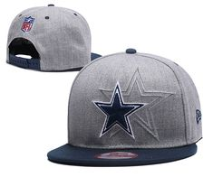 5b74376f74b Men's Dallas Cowboys New Era Official NFL Sideline 9FIFTY Snapback Cap -  Grey / Navy Dallas