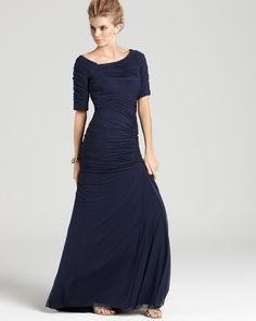 bloomingdale's+formal+evening+gowns | Tadashi Shoji Gown - Off-the-Shoulder | Bloomingdale's