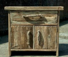 Sauder Harbor View Dresser in Salt Oak - Driftwood 4 Us Twig Furniture, Driftwood Furniture, Driftwood Projects, Furniture Ideas, Driftwood Sculpture, Driftwood Art, Rustic Table, Rustic Decor, Woodworking Inspiration