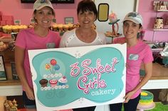 Lisa Ebbert, owner of 3 Sweet Girls Cakery in Kenwood, will open a second location in Over-the-Rhine with daughters Kristen and Lauren, hoping to be ready by the July 14 All Star Game.