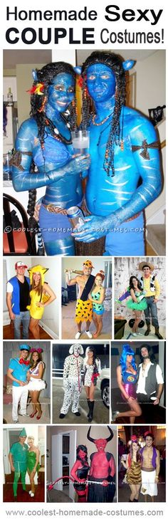 Top 10 DIY Best Sexy Costumes for Couples #halloween #costume #ideas www.facebook.com/CollegeEscrowInc