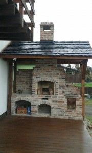 Barbacoa, Garden Landscaping, Grilling, Exterior, Cabin, Greenhouses, Landscape, Sheds, House Styles