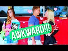 AWKWARD Situations at School! Back to School! Alisha Marie - YouTube