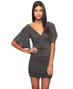 Shimmering Wrap Dress  $22.80