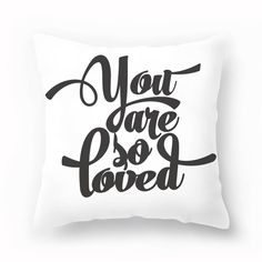 Pillow Cover - You A
