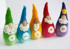 Math gnomes for Waldorf learning by Beneath the Rowan Tree #toys #children #homeschooling #waldorf