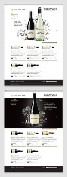 Brokenwood Wines | Brand Image Campaign on Behance | by Geoff Courtman